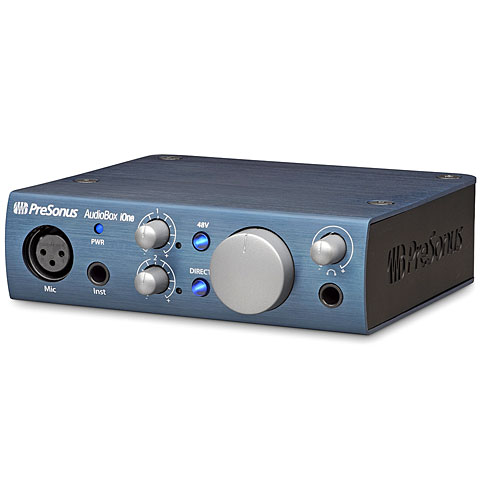 Carte son, Interface audio Presonus AudioBox iOne