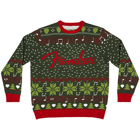 Sudadera Fender Ugly Christmas Sweater L
