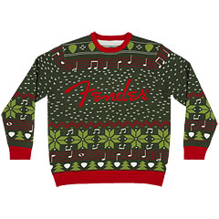 Fender Ugly Christmas Sweater L