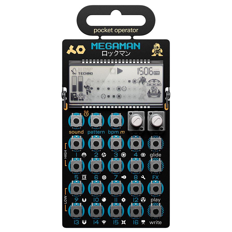 Synthesizer - Teenage Engineering PO 128 Mega Man Synthesizer - Onlineshop Musik Produktiv