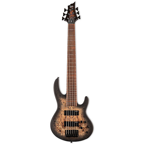 ESP LTD D-6 BLKNBS « Electric Bass Guitar