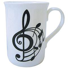 The Music Gifts Company Spiral Treble Clef Mug « Mug
