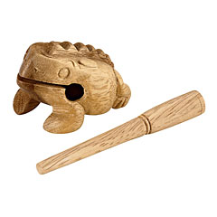 Nino Mini Wood Frog Guiro X-Small NINO517 « Guiro