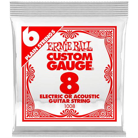 Saiten E-Gitarre Ernie Ball 008 Single Slinky String Set