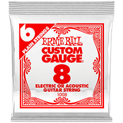 Ernie Ball 008 Single Slinky String Set « Corde guitare électrique