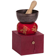 Afroton Ø 11 cm ornamental Singing Bowl Set « Klangschale