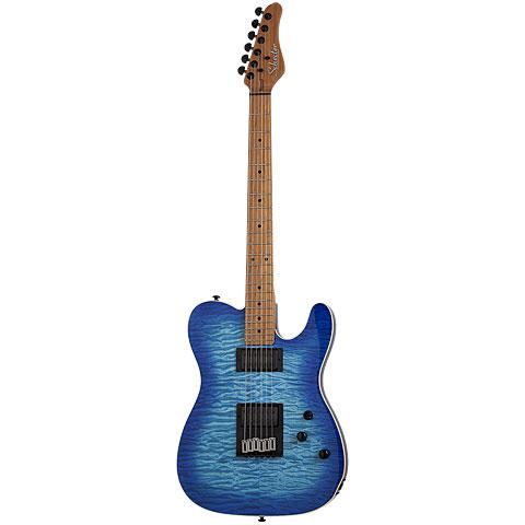 Schecter PT Pro Trans Blue Burst « E-Gitarre