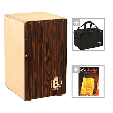 Cajon Bounce Fuego Limited Edition Cajon Bundle