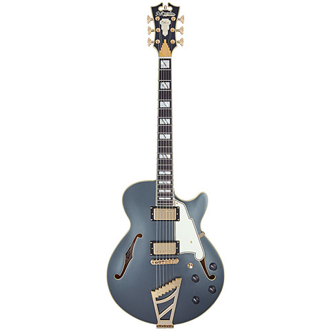 Guitarra eléctrica D'Angelico Deluxe SS LE MCC