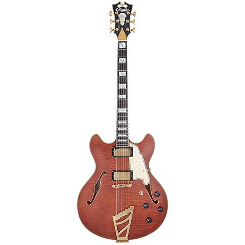 Guitare électrique D'Angelico Deluxe DC LE MWL