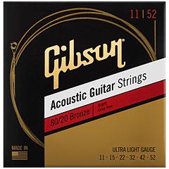 Gibson 80/20 Bronze 011-052 « Cuerdas guitarra acúst.