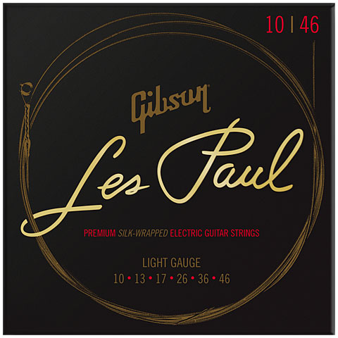 Electric Guitar Strings Gibson SEG-LES10, 010-046 Premium