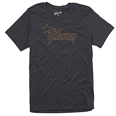 Gibson Star Logo Charcoal L « T-Shirt