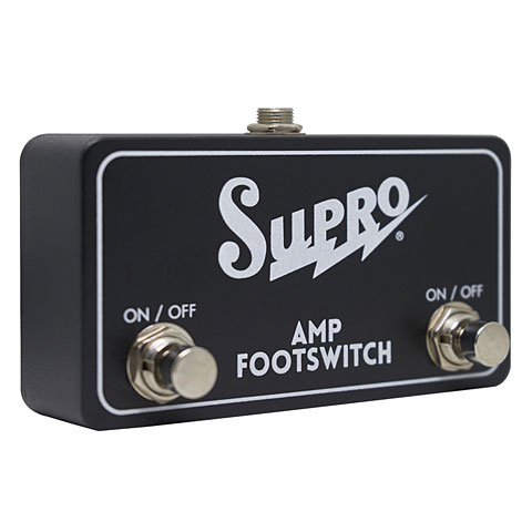 Footswitch Supro Dual Footswitch