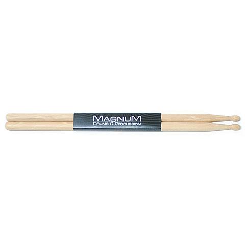 Baquetas para batería Magnum US-Hickory MS-SRL Wood Tip