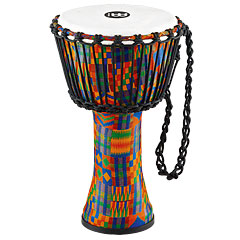 "Meinl African 8"" Rope Tuned Small Djembe PADJ2-S-F Kenyan Quilt"