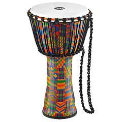 "Meinl African 10"" Rope Tuned Medium Djembe PADJ2-M-F Kenyan Quilt « Djembe"