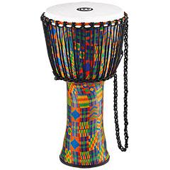 """Meinl African 12"""" Rope Tuned Large Djembe PADJ2-L-F Kenyan Quilt « Djembe"""