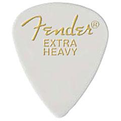 Fender 351 white, extra heavy, 12 Stück « Plectrum