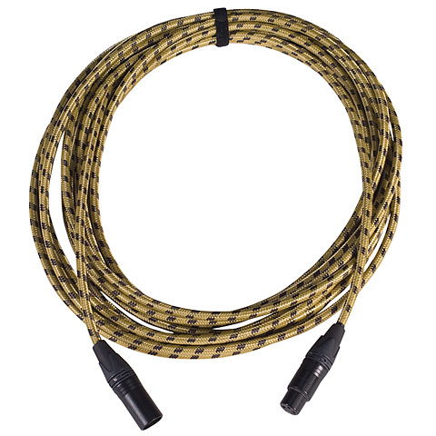 Cable para micrófono Karl's MFM 5 m Vintage