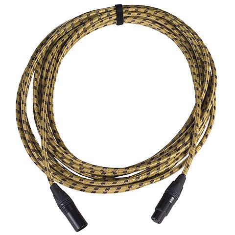 Cable para micrófono Karl's MFM 3 m Vintage