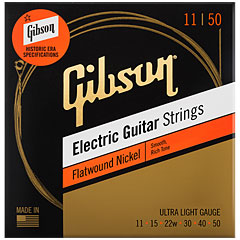 Gibson SEG-FW11, UL 011-050, Flatwound « Electric Guitar Strings