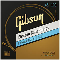 Gibson FWSL12 045-100 Long Scale Flatwound « Electric Bass Strings