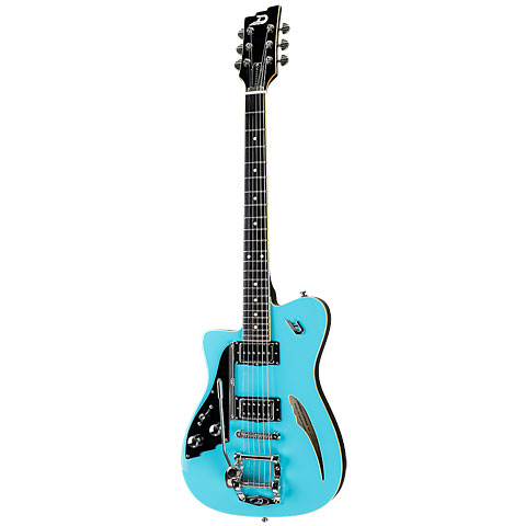 Duesenberg Caribou Narvik Blue Lefthand B-Stock « Guitarra eléctrica zurdos
