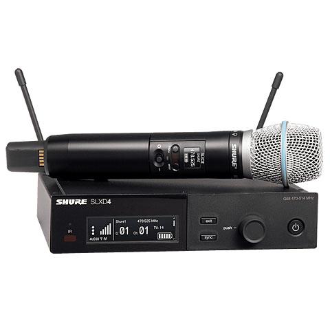 Micrófono inalámbrico Shure SLXD24E/Beta 87A S50