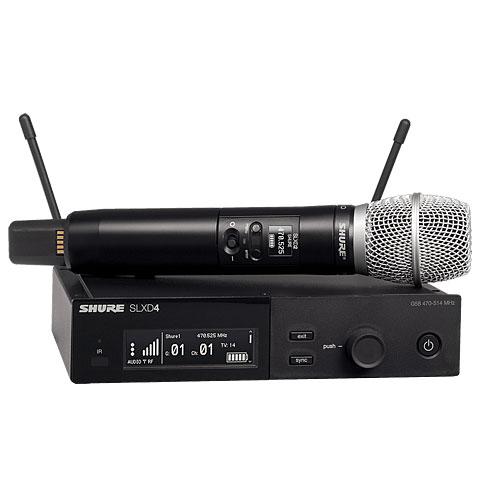 Micrófono inalámbrico Shure SLXD24E/SM86 S50