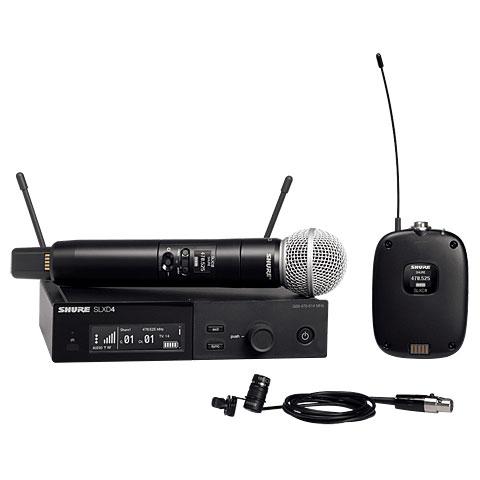Micrófono inalámbrico Shure SLXD124E/85 S50