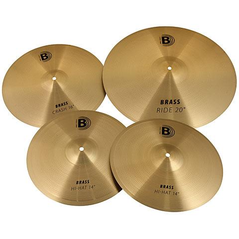 Becken-Set Bounce Brass Cymbal Set 3 Pcs.