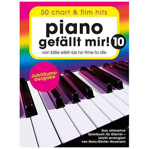 Libro de partituras Bosworth Piano gefällt mir! 10 - Jubiläumsausgabe