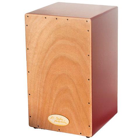 Cajon El Cajón Percusión ECP100RD red Basico Cajon