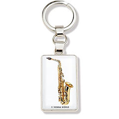 Vienna World Keyring Saxophone « Key Fob