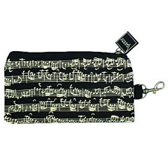 Vienna World Pencil Case - Sheet Music Black « Article cadeau