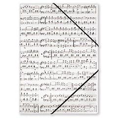 Vienna World Choir File With Elastic Band White « Carpeta de partituras