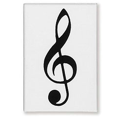 Vienna World Fridge Magnet - Treble Clef « Aimant