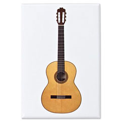 Vienna World Fridge Magnet - Acoustic Guitar « Dekomagnet