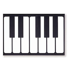 Vienna World Fridge Magnet - Keyboard