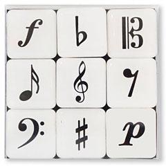 Vienna World Fridge Magnet - Minimagnetbox Musicsymbols « Dekomagnet