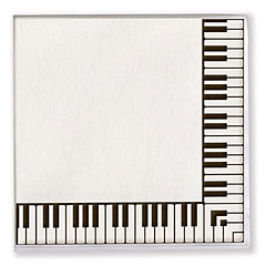 Vienna World Paper Napkins - Keyboard « Article cadeau