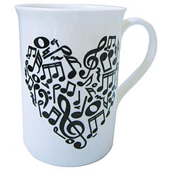 The Music Gifts Company Heart Of Notes Mug « Tazas