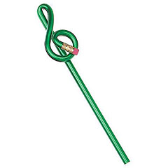 AIM Gifts Pencil Treble Clef Green « Stift