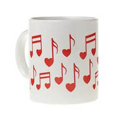 AIM Gifts Heart Note Mug