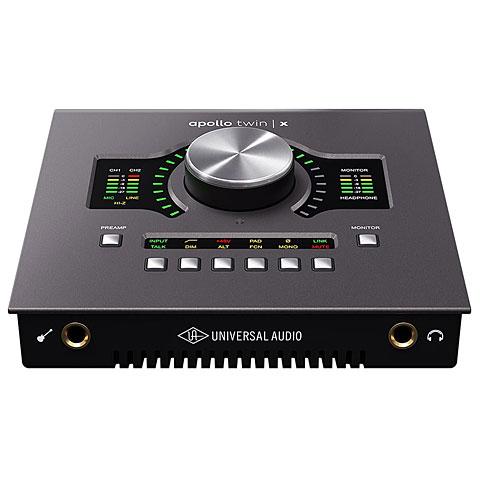 Carte son, Interface audio Universal Audio Apollo Twin X Duo Heritage Edition