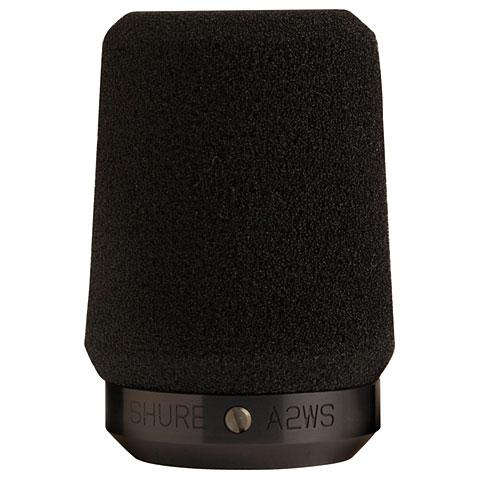 Accessoires microphone Shure A2WS-BLK wind screen black