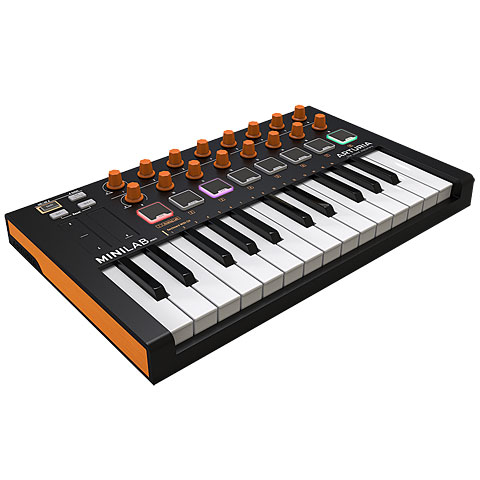 Master Keyboard Arturia MiniLab MkII Orange