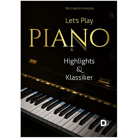 Bladmuziek 3D-Verlag Let's Play Piano - Highlights & Klassiker