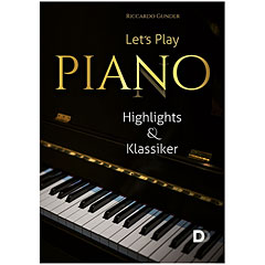 3D-Verlag Let's Play Piano - Highlights & Klassiker « Libro de partituras